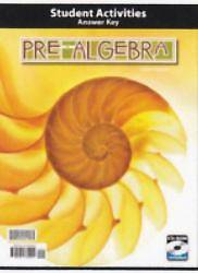 Pre Algebra Grade 8 Activity Manual Key 2nd Edition