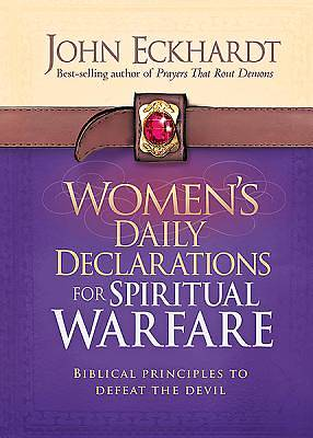 Womens Daily Declarations for Spiritual Warfare
