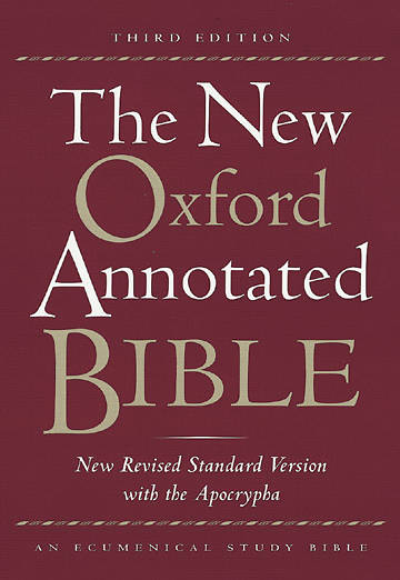 The New Oxford Annotated New Revised Standard Version Bible