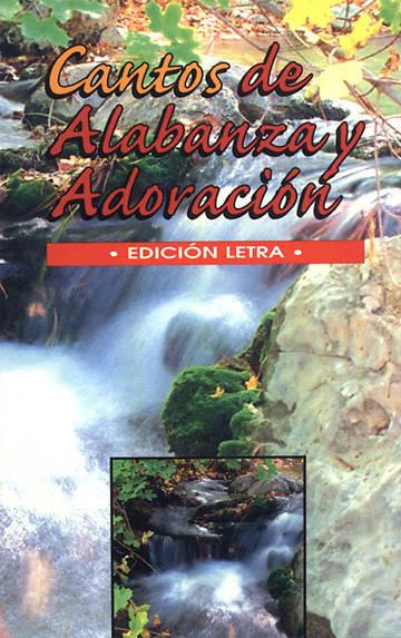 Picture of Cantos de Alabanza y Adoracion himnario edicion letra