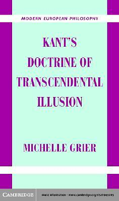 Kants Doctrine of Transcendental Illusion [Adobe Ebook]