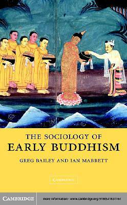 The Sociology of Early Buddhism [Adobe Ebook]