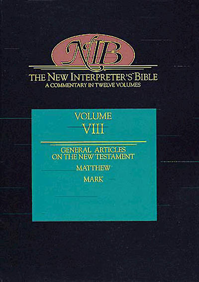 New Interpreters Bible Volume VIII