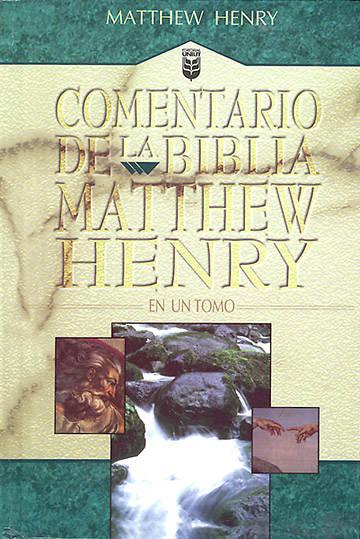 Picture of Comentario de la Biblia Matthew Henry