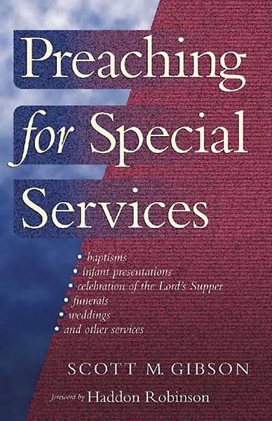 Preaching for Special Services [ePub Ebook]