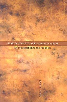Hear, O Heavens and Listen, O Earth