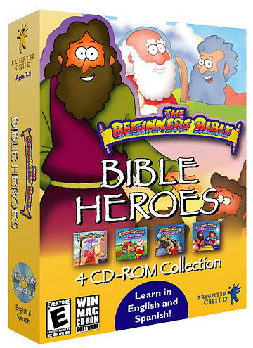 Picture of The Beginner's Bible - Bible Heroes 4 CDROM Collection