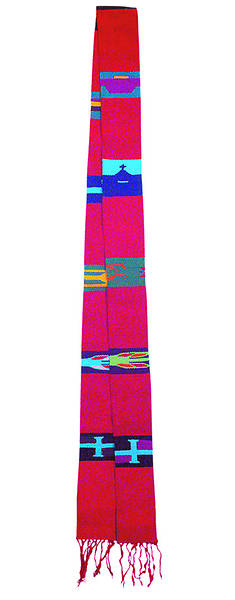 Picture of Guatemalan Stole RED