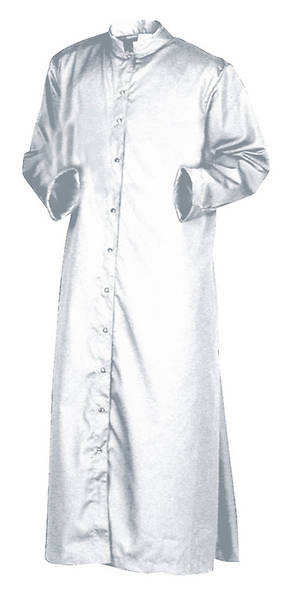 Altar Server Childrens Roman Long Sleeve Cassock with Snap Front