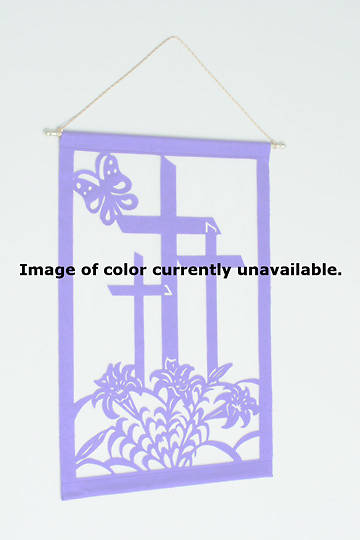 Easter Liturgical Wall Hanging Kit WHITE - 24X36