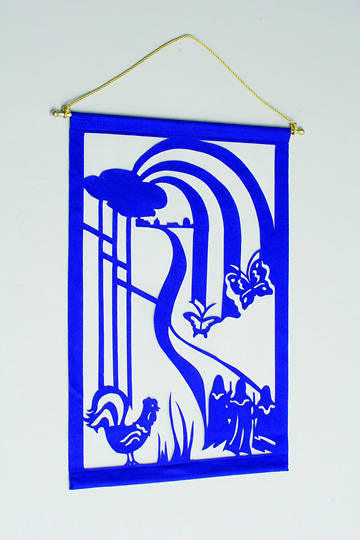 Emmaus Liturgical Wall Hanging Kit BLUE - 24X36