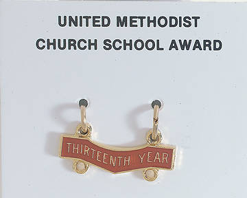 United Methodist Attendance Bar 13