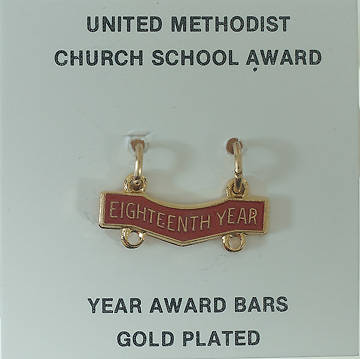 United Methodist Attendance Bar 18