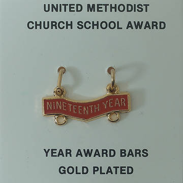 United Methodist Attendance Bar 19