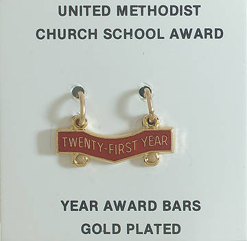 United Methodist Attendance Bar 21