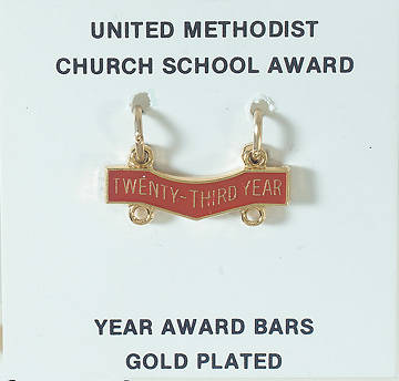 United Methodist Attendance Bar 23