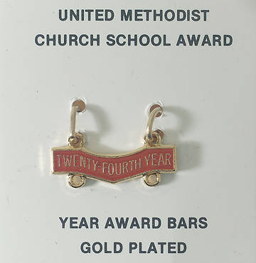 United Methodist Attendance Bar 24