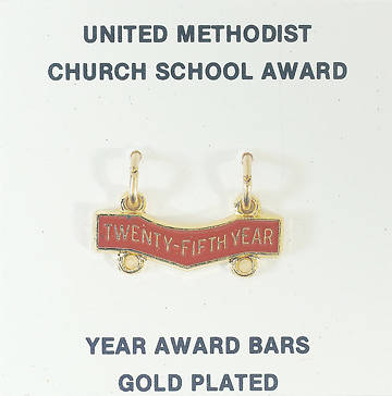 Picture of United Methodist Attendance Bar 25