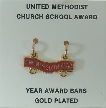 United Methodist Attendance Bar 26