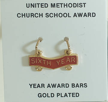 United Methodist Attendance Bar 6