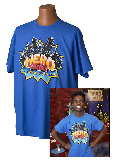 Vacation Bible School VBS Hero Central Leader T-Shirt