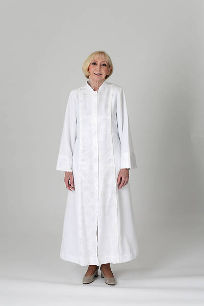 Picture of Celeste 3 Lin-Weave Robe with White Royalty Accent and White Cording
