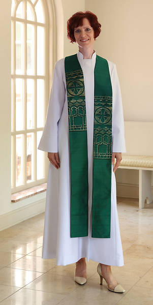 Picture of WomenSpirit Abbey Pastor Stole - Asymmetrical Design