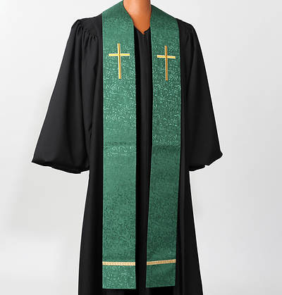 Picture of Gold Cross Stole