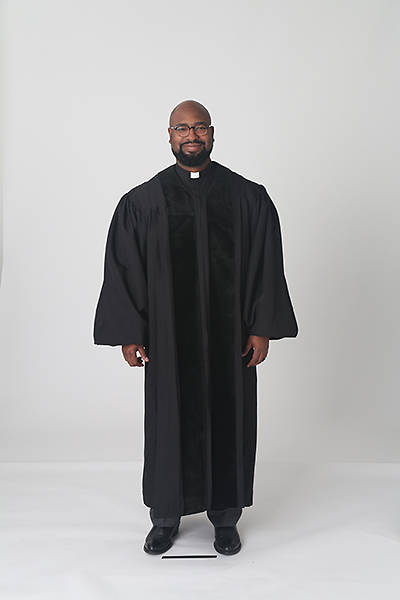 Picture of Abbott Hall A501 Men's Speedship Pulpit Robe - AH11