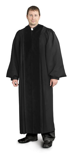 Picture of Abbott Hall NPG26B Men's Slim-Cut Robe