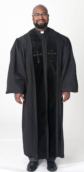 Picture of Abbott Hall A512 Men's Speedship Pulpit Robe