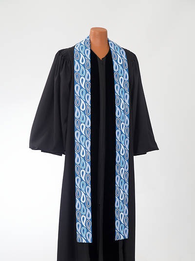 Picture of Blue Paisley Stole