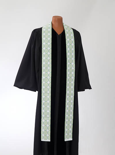 Picture of Green Concentric Stole