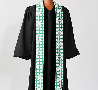 Picture of Green Crucifer Stole