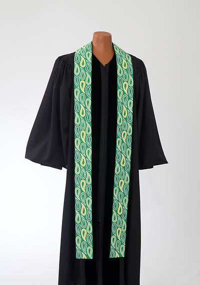 Picture of Green Paisley Stole