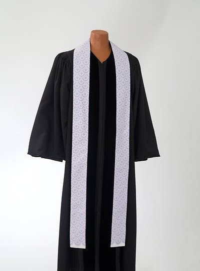 Picture of Purple Concentric Stole