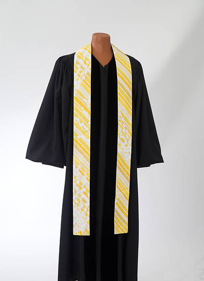 Picture of Gold Botanical Stole