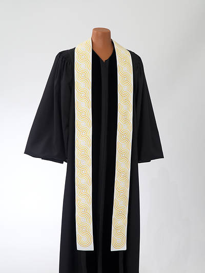 Picture of Gold Concentric Stole