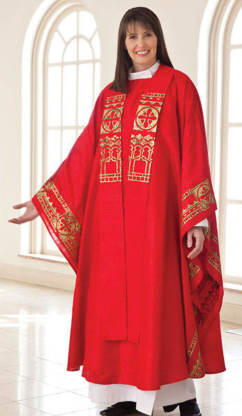 WomenSpirit Abbey Chasuble Set