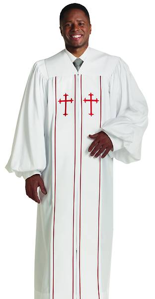 Murphy Qwick Ship Cleric S-16 Pulpit Robe White