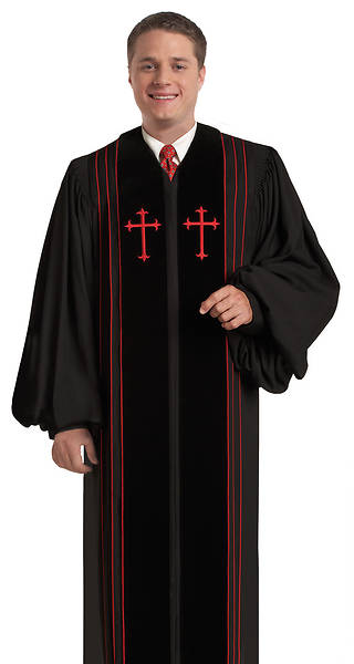 Murphy Qwick Ship Bishop H-4 Pulpit Robe