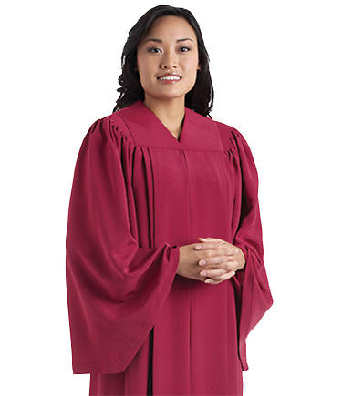Murphy Qwick-Ship Tempo C-52 Chianti Choir Robe