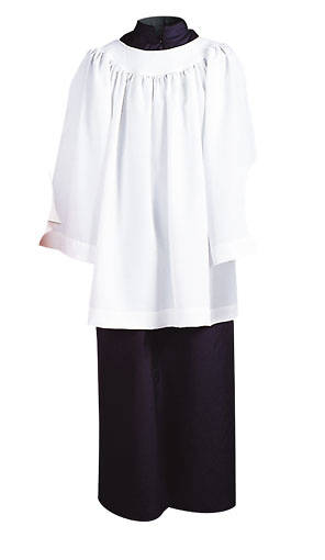 Picture of Abbey Brand Style 215S Acolyte Cassock Black - 8