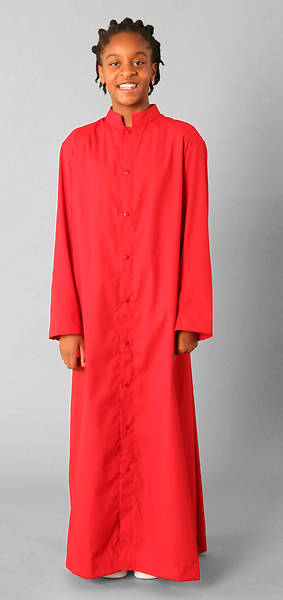 Picture of Abbey Brand Style 215 Snap Front Acolyte Cassock