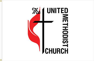 Picture of United Methodist Outdoor Flag
