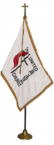 Picture of United Methodist Indoor Deluxe Flag Set