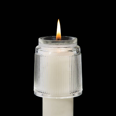 Picture of Glass Heat Resistant Follower for Wax Candles Glass - #2