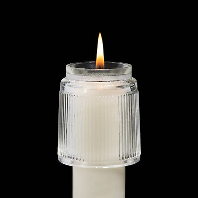 Picture of Glass Heat Resistant Follower for Wax Candles