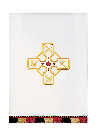 Picture of Gaspard Castle Craft 1314 Celtic Cross Pulpit Scarf