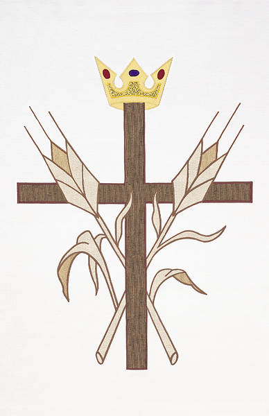 Gaspard 1100 The King Of Glory Banner